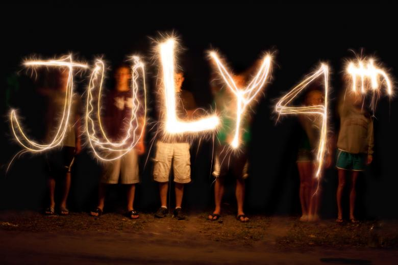 Free Stock Photo of July 4th Created by Pixabay