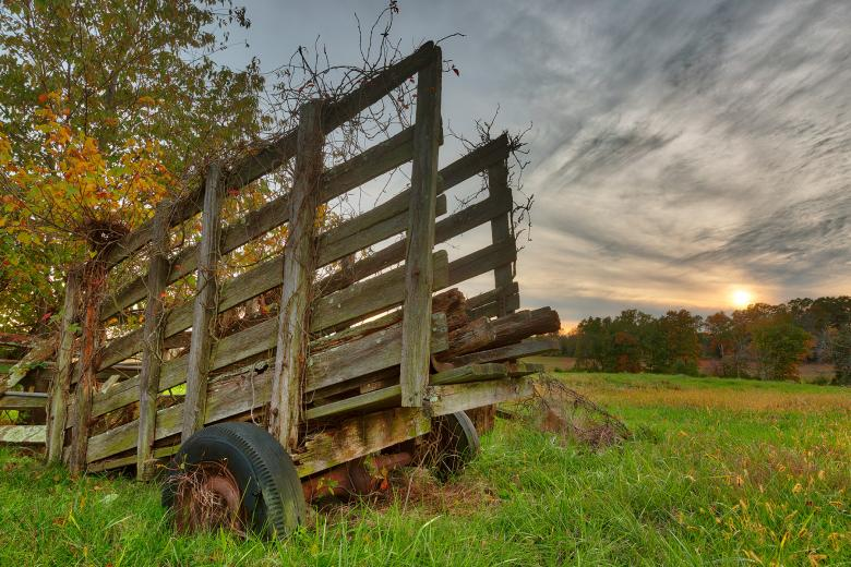 Free Stock Photo of Gettysburg Sunset Decay - HDR Created by Nicolas Raymond