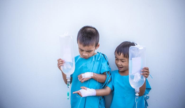 Kids on Antibiotics - Free Medical Stock Photos