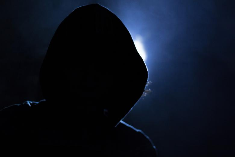 Free stock image of Hacker Guy created by Pixabay
