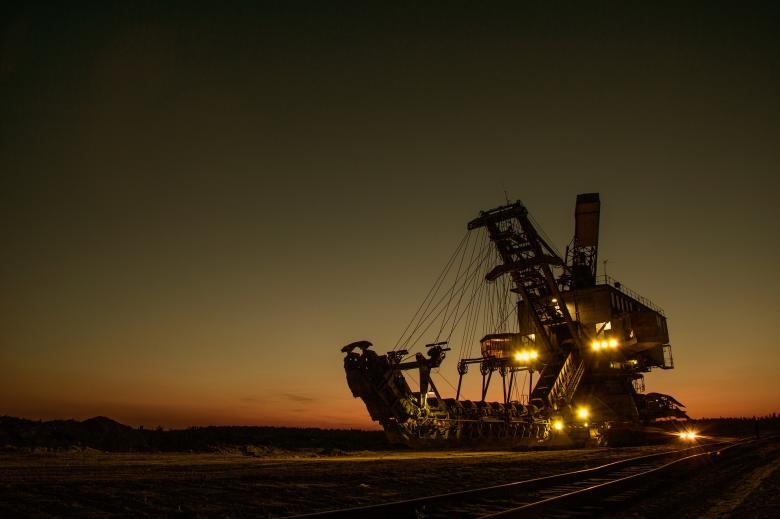 Mining Excavator - Free Industrial Stock Photos
