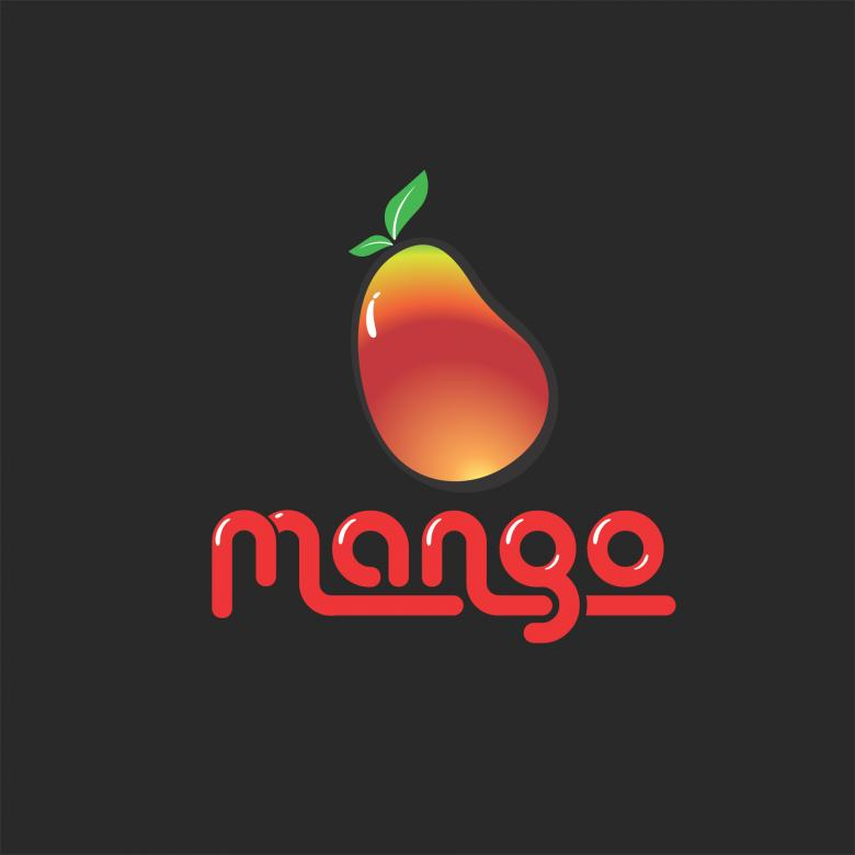 Free Stock Photo of Mango Logo Created by Pixabay