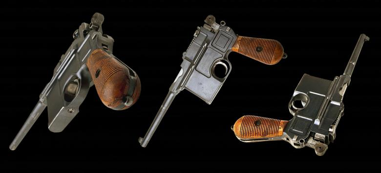 Free Stock Photo of Mauser Pistols Created by Pixabay