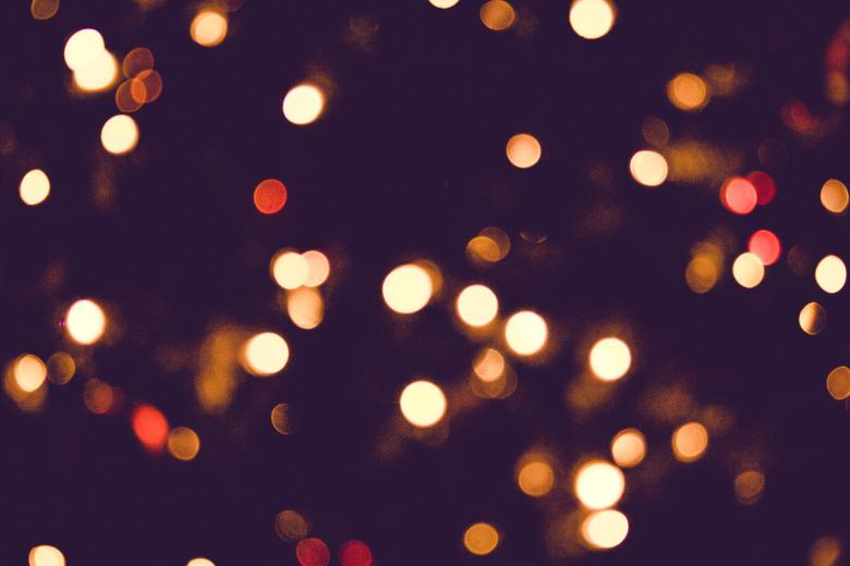 Free Stock Photo of Colorful background with blurry lights Created by Alen