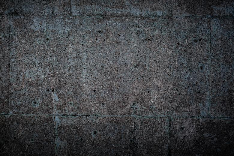 Old blue concrete wall texture filled with cracks and dirt  Use it as  overlay to create a vintage effect on your designs and photographs. Blue Concrete Texture Free Stock Photo   Free Images