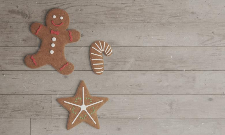 Free Stock Photo of Gingerbread Christmas Cookies Created by Pixabay