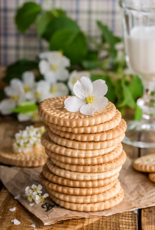 Flower on the Cookies | Free Food Stock Photos