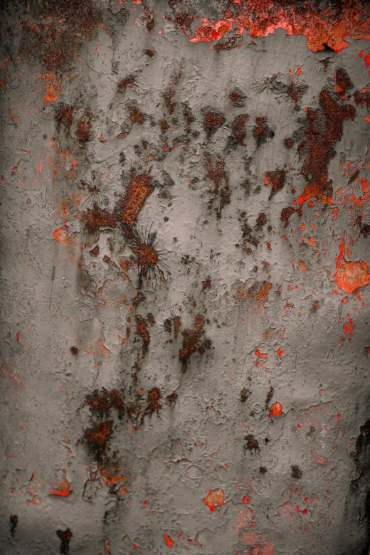 Free Stock Photo of Rusted Red Metal Overlay Created by Free Texture Friday