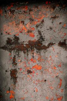 Rusted Red Metal Texture - Free Stock Photo