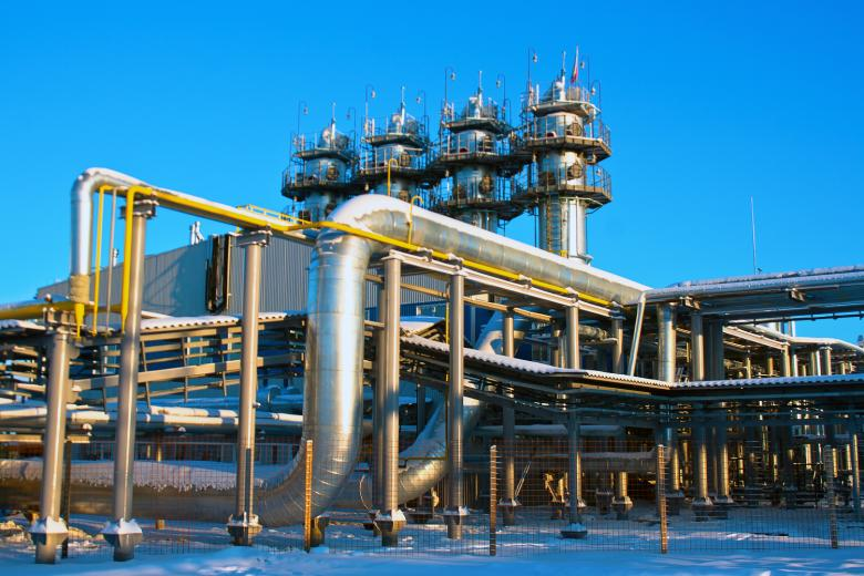 Gas Production - Free Industrial Stock Photos