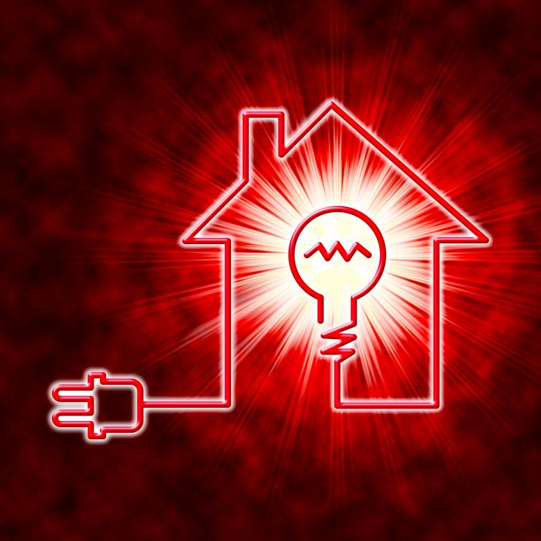 Light Bulb Means Power Source And Circuit Free Stock Photo By