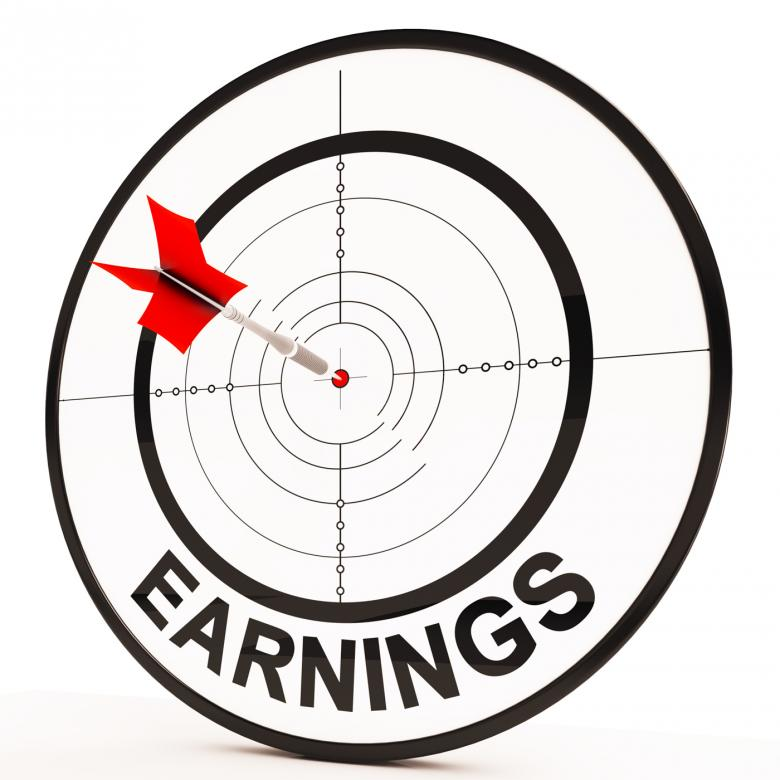 Free Stock Photo of Earnings Shows Prosperity, Career, Revenue And Income Created by Stuart Miles
