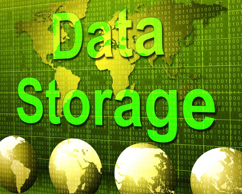 Free Stock Photo of Data Storage Represents Hard Drive And Archive Created by Stuart Miles