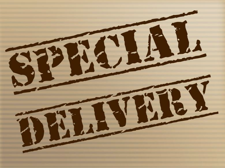 Free stock image of Special Delivery Means Notable Courier And Unique created by Stuart Miles