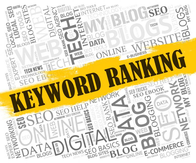 Free Stock Photo of Keyword Ranking Means Search Engine And Dialogue Created by Stuart Miles