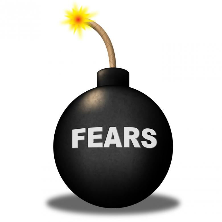 Free Stock Photo of Fears Alert Shows Frightened Worry And Explosive Created by Stuart Miles
