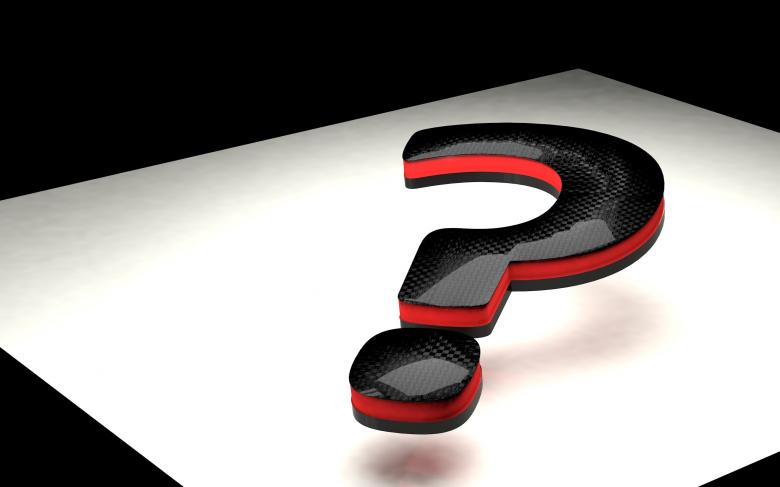 Free Stock Photo of Question mark Created by bykst
