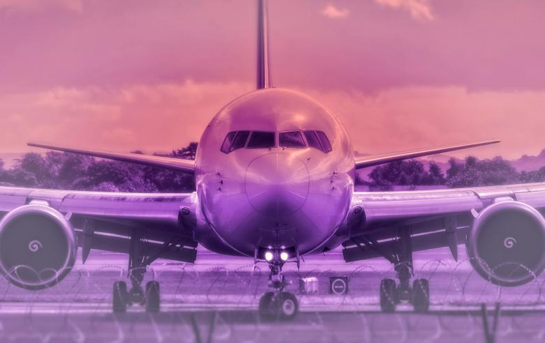 Free Stock Photo of Airplane - Colorized Created by Jack Moreh