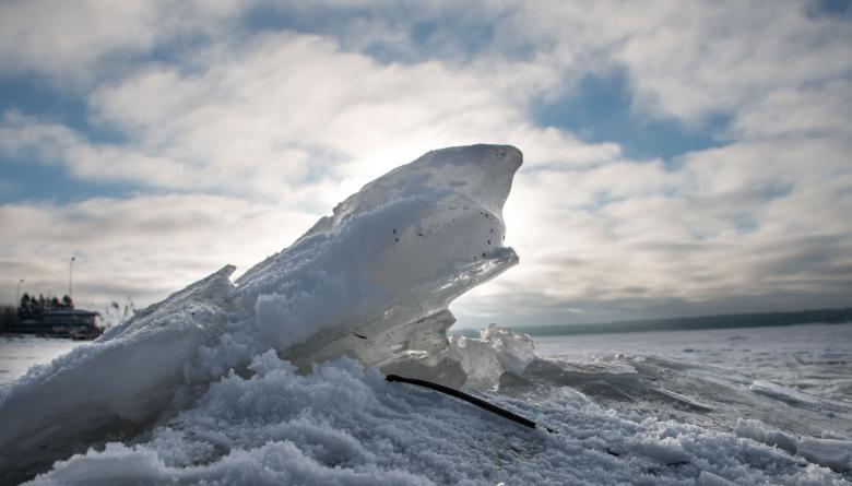 Free Stock Photo of Mini Iceberg Created by Janis Urtans