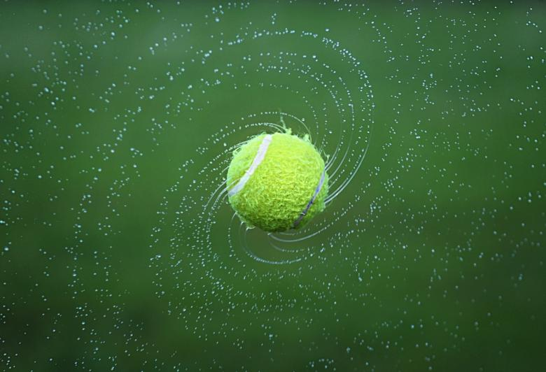 Free Stock Photo of Tennis Ball Created by Pixabay
