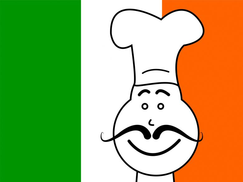 Free Stock Photo of Ireland Chef Shows Cooking In Kitchen And Catering Created by Stuart Miles
