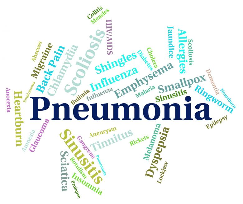 Free Stock Photo of Pneumonia Word Means Ill Health And Affliction Created by Stuart Miles
