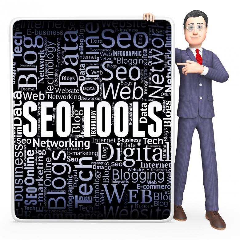 Free Stock Photo of Seo Tools Indicates Search Engine And Applications Created by Stuart Miles