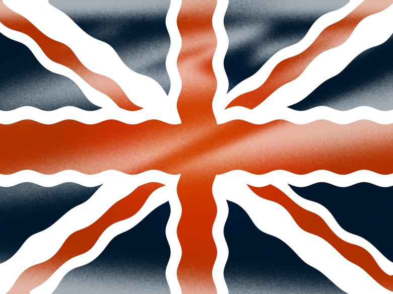 Free Stock Photo of Union Jack Shows National Flag And Britain Created by Stuart Miles