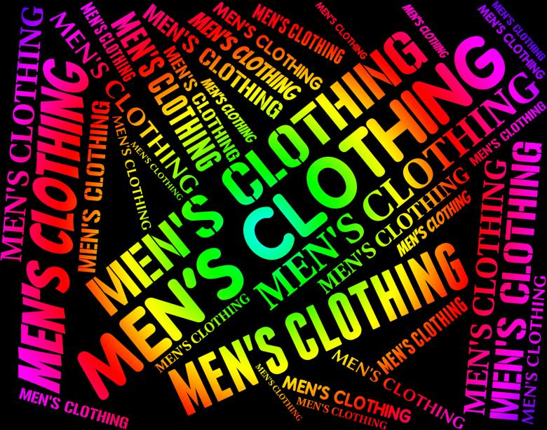 Free Stock Photo of Mens Clothing Indicates Male Man And Mans Created by Stuart Miles