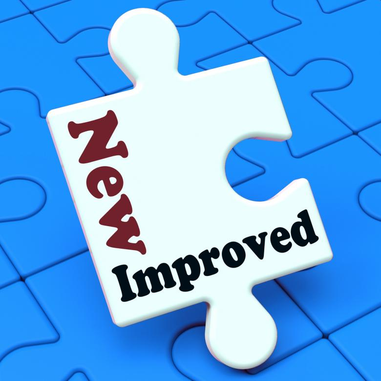 Free Stock Photo of New Improved Means Development To Upgrade Product Created by Stuart Miles