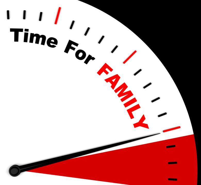 Time for Family Meaning Love And Romantic Home - Free Stock Photo by