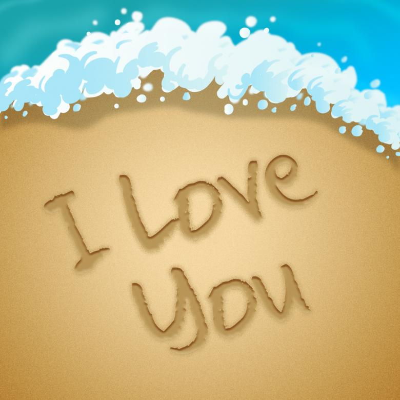 Love You Means Loving Passion 3d Illustration - Free Love Stock Photos