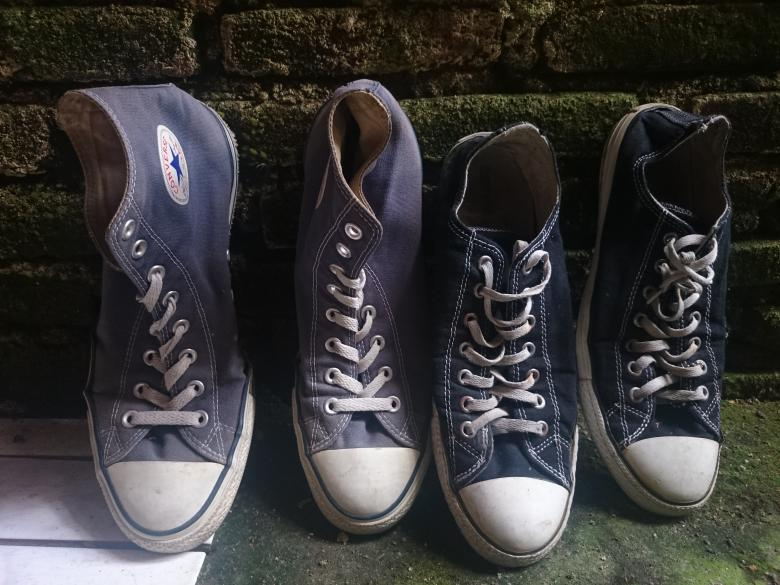 74a7d87100d Free Stock Photo of Old Converse Shoes Created by febri nura tarigan