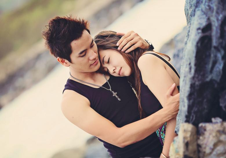 Vietnamese Lover - Free Love Stock Photos