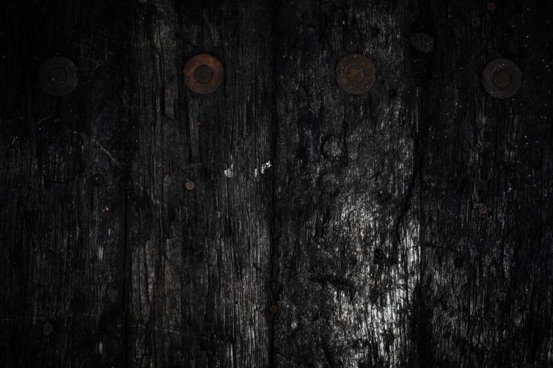 Dark Rotten Wood Texture - Free Grunge Backgrounds