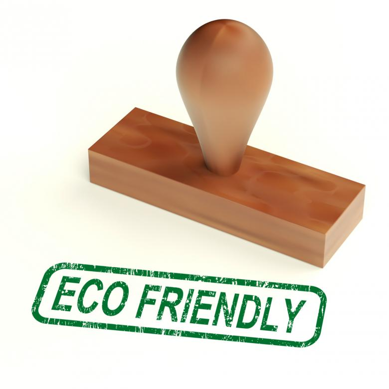 Eco Friendly Stamp As Symbol For Recycling Or Nature - Free Environmental Stock Photos