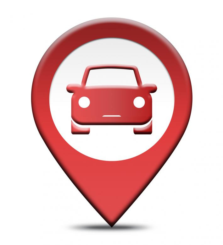 Car Rental Location Shows Automobile Hire Places Free Photo