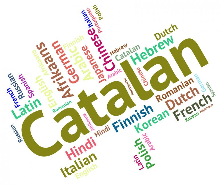 Free Stock Photo of Catalan Language Represents Word Translator And International Created by Stuart Miles