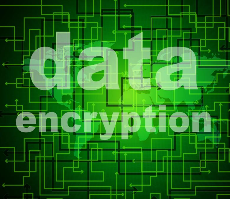 Free Stock Photo of Data Encryption Indicates Protected Password And Cipher Created by Stuart Miles