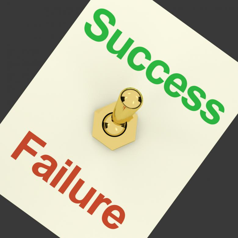 Free Stock Photo of Success Switch On As Symbol Of Winning And Victory Created by Stuart Miles