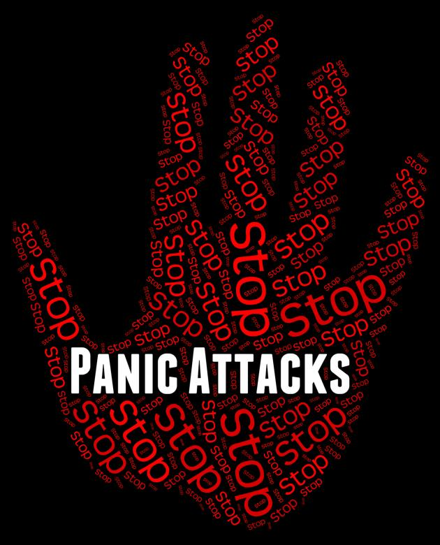 Free Stock Photo of Stop Panic Shows Warning Sign And Attack Created by Stuart Miles