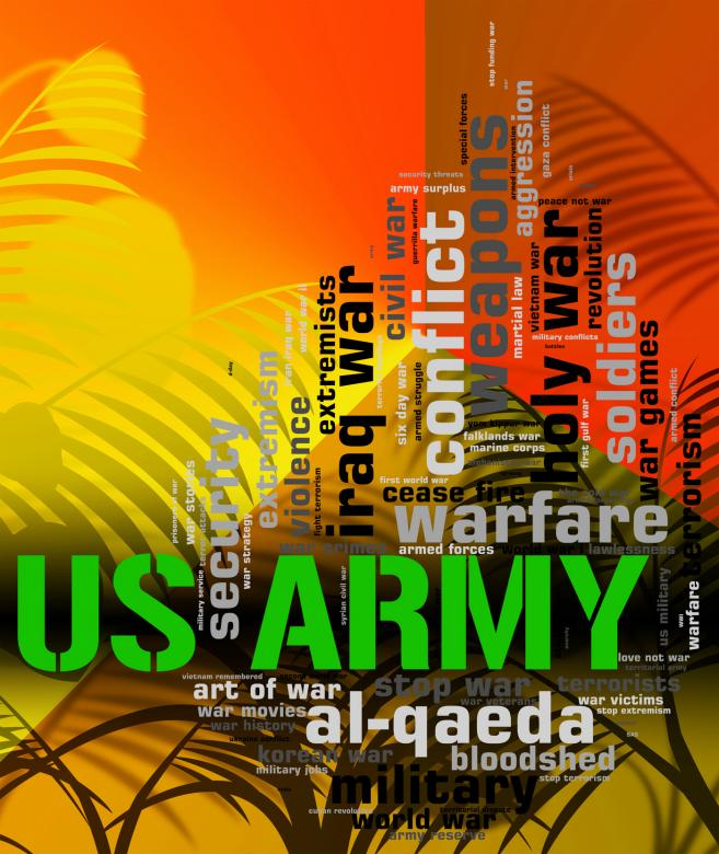 Free Stock Photo of Us Army Shows The United States And Armed Created by Stuart Miles