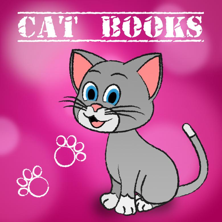 Free stock image of Cat Books Indicates Learn Education And Felines created by Stuart Miles
