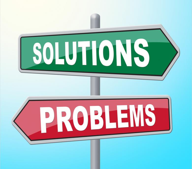 Free Stock Photo of Solutions Problems Means Difficult Situation And Achievement Created by Stuart Miles