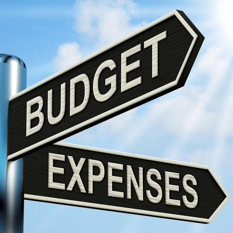 Free Stock Photo of Budget Expenses Signpost Means Business Accounting And Balance Created by Stuart Miles