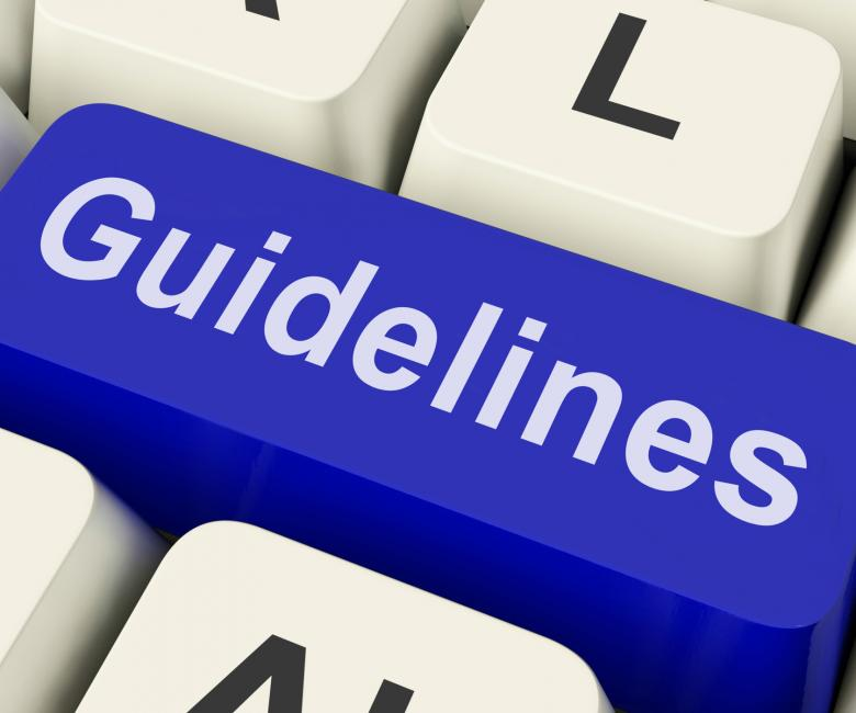 Free Stock Photo of Guidelines Key Shows Guidance Rules Or Policy Created by Stuart Miles