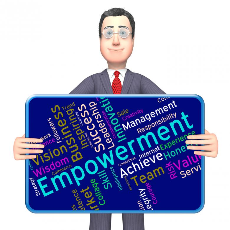 Free Stock Photo of Empowerment Words Means Urge To And Boost Created by Stuart Miles