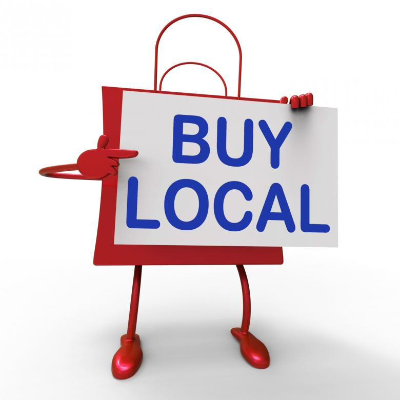 buying locally