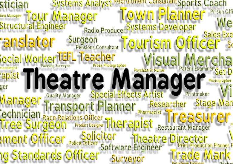 Free stock image of Theatre Manager Shows Stage Work And Chief created by Stuart Miles
