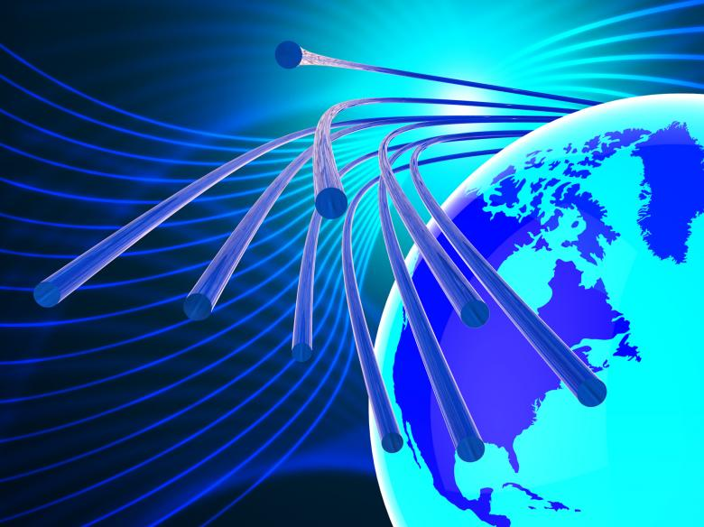 Free Stock Photo of Optical Fiber Network Represents World Wide Web And Communicatio Created by Stuart Miles